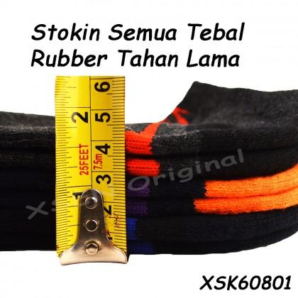 Ankle Cotton Deodorant Sock (Sarung Kaki Anti-bau) Unisex With Insole Cushion Xsen XSK60801